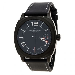 Bernhard H Mayer Black Stainless Steel IL Nero Men's Wristwatch  44 mm