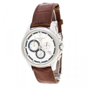 Bernhard H Mayer Depuis 1871 White Stainless Steel  Virtus Men's Wristwatch 43 mm