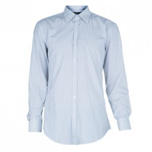 BOSS By Hugo Boss Men's Striped Formal Shirt L