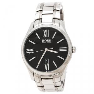 Boss By Hugo Boss Black Stainless Steel HB.225.1.14.2679 Men's Wristwatch 43 mm