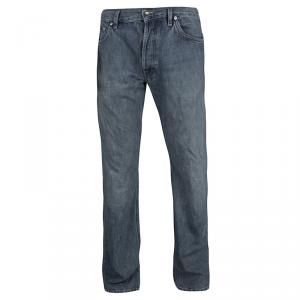 Boss By Hugo Boss Indigo Faded Effect Denim Scout Jeans L