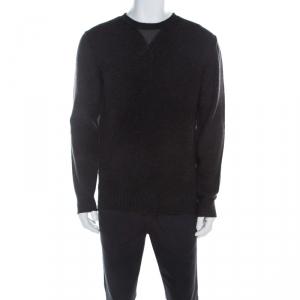 Boss by Hugo Boss Charcoal Grey Wool Sweater L - used