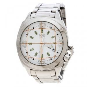 Boss By Hugo Boss White Stainless Steel 1800 Men's Wristwatch 42 mm