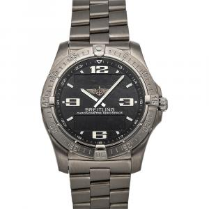 Breitling Black Titanium  Professional Aerospace Advantage E7936210/B781 Men's Wristwatch 42 MM