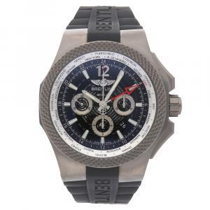 Breitling Black Titanium Bentley GMT Light Body B04 EB043210/BD23 Men's Wristwatch 49 MM