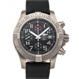 "Breitling Gray Titanium Avenger ""Bandit"" E1338310/M534 Men's Wristwatch 45 MM"