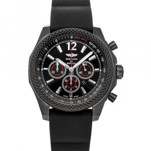 Breitling Black Blacksteel Bentley Barnato Midnight Carbon Limited Edition M4139024/Bb85 Men's Wristwatch 42 MM