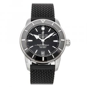 Breitling Black Stainless Steel Superocean Heritage B20 AB2010121B1S1 Men's Wristwatch 42 MM