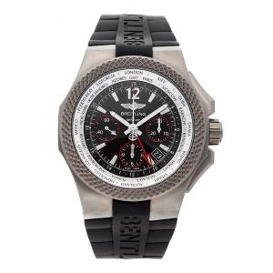 Breitling Black Titanium Bentley GMT B04S EB043335/BD78 Men's Wristwatch 45 MM