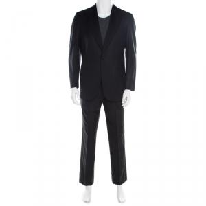Brioni Black Super 160s Wool Quirinale Tuxedo Suit M