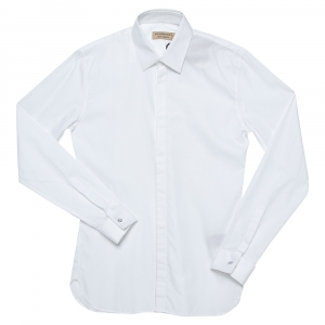 Burberry White Cotton Selden Long Sleeve Button Front Shirt XS -