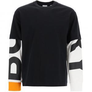 Burberry Black T-shirt Logo Size S -