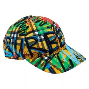 قبعة بربري Burby Fronts كانفاس متعددة الألوان M-L
