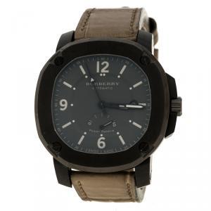 Burberry Grey The Britain BBY1000 Men's Wristwatch 45 mm
