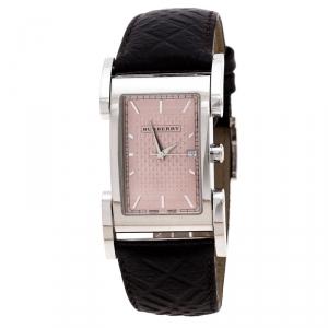 Burberry Beige Stainless Steel BU1107 Men's Wristwatch 25 mm