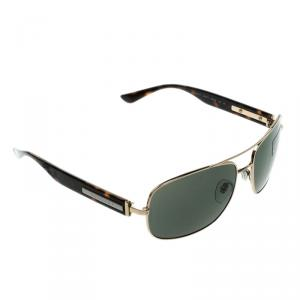Bvlgari Grey Green 5017 Square Sunglasses