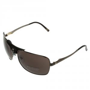 Bvlgari Brown 5019 Aviator Sunglasses