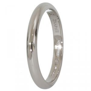 Bvlgari Fedi Platinum Wedding Band Ring Size 57