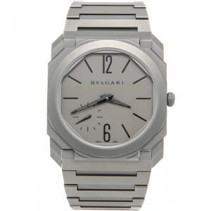 Bvlgari Titanium Octo Finissimo Extra Thin Automatic Men's Watch 40MM