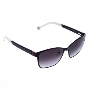 Carolina Herrera Black/White Gradient SHE067 Square Sunglasses