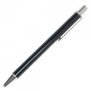 Cartier Black Lacquer Must de Cartier Ballpoint Pen