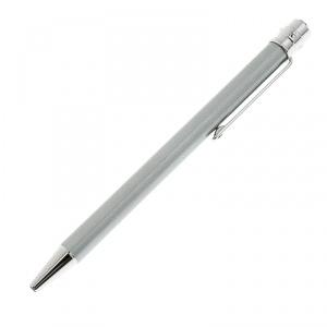 Cartier Santos de Cartier Silver Lacquer Palladium Finish Ballpoint Pen