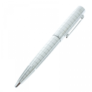 Cartier Pasha de Cartier Textured Platinum Finish Ballpoint Pen