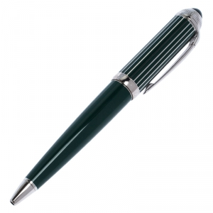 Cartier Roadster De Cartier Green Resin Palladium Finish Ballpoint Pen