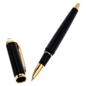 Cartier Roadster De Cartier Black Composite Gold Tone Rollerball Pen