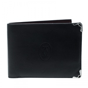 Cartier Leather Must De Cartier Bifold Wallet