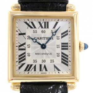 Cartier Tank Obus Gold 18K Gold Unisex Wristwatch