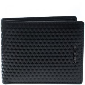 Cerruti 1881 Black Leather Cleveland Bifold Wallet