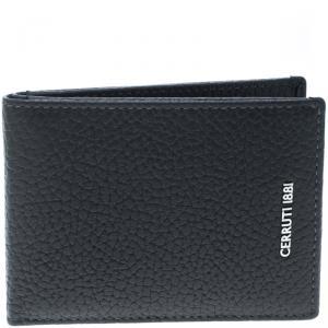 Cerruti 1881 Grey Leather Cerrutis Bifold Wallet