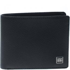 Cerruti 1881 Black Leather Hove Bifold Wallet