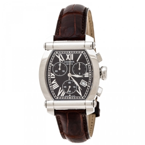 Charriol Brown Stainless Steel Colvmbvs 060T2 Men's Wristwatch 35 mm