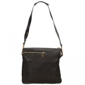 Chloe Black Leather Vanessa Messenger Bag