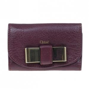 Chloe Plum Bow Key Holder
