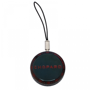 Chopard Black Classic Racing 95016-0030 Black Cord Round Keychain