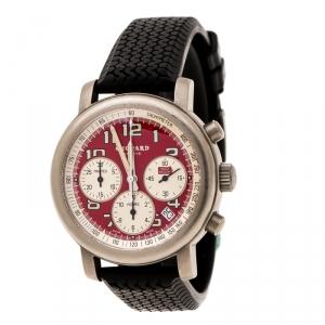 Chopard Red Titanium Mille Miglia Rosso Limited Edition Men's Wristwatch 40 mm