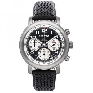 Chopard Black Titanium Mille Miglia Chronograph 16/8407 Men's Wristwatch 40.5 MM