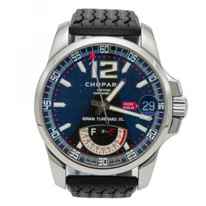 Chopard Mille Miglia Black Dial Stainless Steel Automatic Men's Watch 44 MM