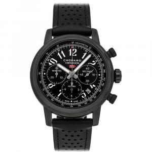 Chopard Black Stainless Steel Mille Miglia 2020 Race Edition 168589-3028 Men's Wristwatch 42 MM