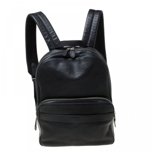 Coach Black Leather Hamilton Backpack