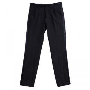 D&G Black Wool Trousers XS