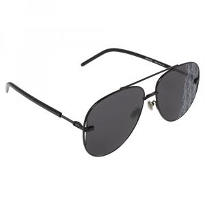 Dior Black Metal DIORSCALE Aviator Sunglasses