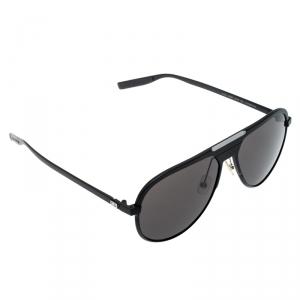 Dior Homme Black Matte/ Black AL13.6 Aviator Sunglasses