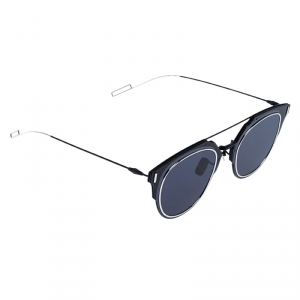 Dior Homme Matte Black /Blue Dior Composit 1.0 Square Sunglasses