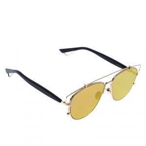 Dior Gold Mirror RHL83 Technologic Sunglasses