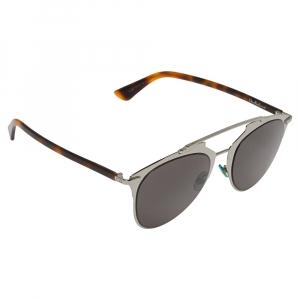 Dior Brown Havana/Grey 31ZNR Aviator Sunglasses