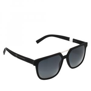 Dior Black/Grey DIOR0200S Rectangle Sunglasses